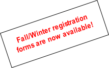 Fall/Winter registration
